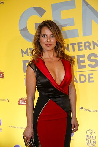 La Reina del Sur (TV series) - Image: Kate del Castillo at 2015 Miami Film Festival
