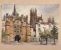 Katedralen i Burgos, Spanien. Fritz von Dardel, 1886 - Nordiska Museet - NMA.0037311.jpg