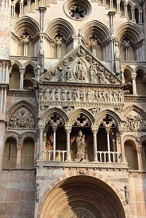 Ferrara Cathedral - Image: Kathedrale Ferrara 1