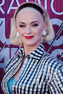 Katy Perry American singer, songwriter, and television judge