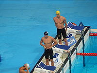 Kazan 2015 - Phillips and Hadler 100m butterfly semi.JPG