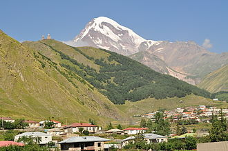 North Ossetia–Alania - Mount Kazbek