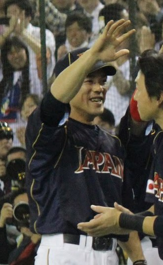 Kazuo Matsui - Matsui with the Japan national team in 2013 World Baseball Classic