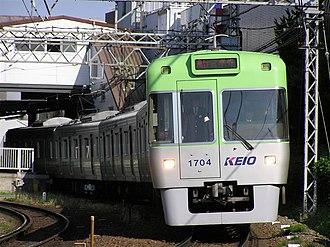 Keio Inokashira Line - A Keio 1000 series EMUs on the Inokashira Line