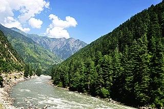 Neelum District District in Pakistan