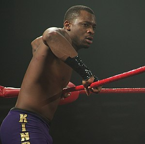 Kenny King (wrestler) - King in 2011 at a Ring of Honor show