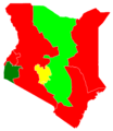 Kenyan presidential election, 1992 Results by province.png