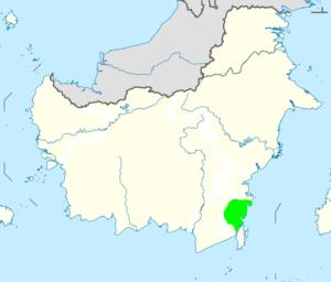 Batulicin - Tanah Bumbu regency in South Kalimantan (Borneo)