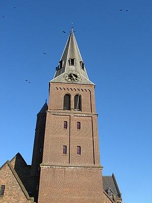 Nederlands: Kerktoren Wageningen