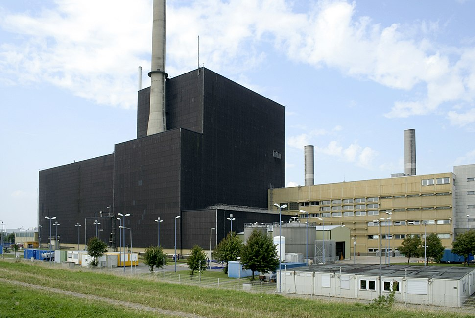 Kernkraftwerk Brunsb%C3%BCttel - Landseite