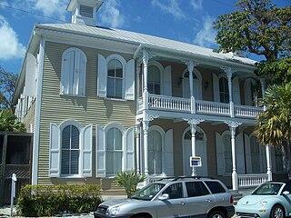 Eduardo H. Gato House historic home in Key West, Florida, USA