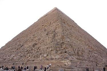 Khafre's Pyramid 2010 closeup 2.jpg