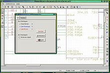 Eeschema open source schematic capture. Part of the KiCad suite Kicad Eeschema screenshot.jpg