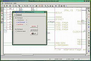 Schematic capture - Eeschema open source schematic capture. Part of the KiCad suite