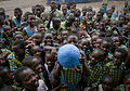 Kids receiving ball - Winneba School-Ghana Keri Oberly.jpg
