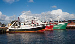 Killybegs Harbour Fishing Trawlers 2012 09 16.jpg
