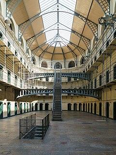 Kilmainham Gaol Prison museum in Dublin, Ireland