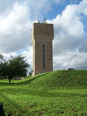 Kimberley, Nottinghamshire - Kimberley's distinctive water tower