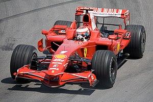 Ferrari F2008 - Image: Kimi Canada 2008