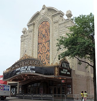 Kings Theatre (Brooklyn) - Renovated facade (2015)