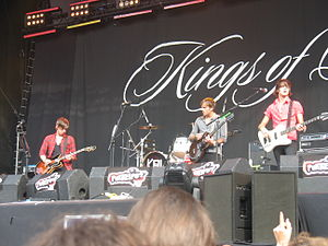 Kings of Leon - Kings of Leon in 2008.