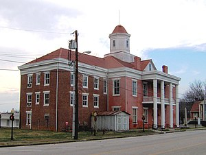 Roane County Courthouse (Tennessee) - The old Roane County Courthouse