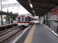 Kintetsu 8500 series at Koriyama Station 20110409 (8407808806).jpg
