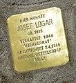 Klagenfurt Villacher-Strasse 1 Stolperstein Josef Logar 04072014 650.jpg