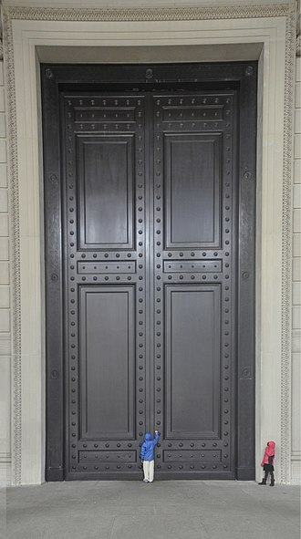 Door - The doors of The National Archives Building in Washington, D.C.