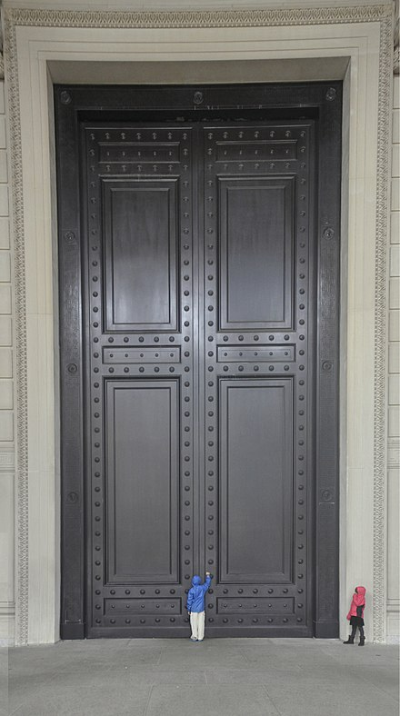 The doors of The National Archives Building in Washington D.C. & Door - Wikiwand pezcame.com
