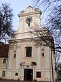 Kościół klasztorny reformatów, ob. par. pw. św. Mikołaja, 2 poł. XVIII Łabiszyn 8.JPG