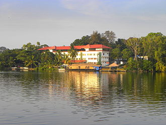 Kerala Tourism Development Corporation - KTDC Tamarind Hotel on the banks of Lake Ashtamudi in Kollam city