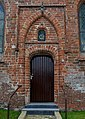 Kollumersweach, herfoarme tsjerke, noardlik portaal.jpg