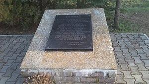 Battle of Komarów - Image: Komarów nagrobek 1
