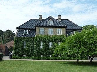 Jacob Fortling - The Commandant's House at Rosenborg Castle Garden (1763)