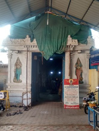 Saraswati - Sarasvati temple at Koothanur in Tamil Nadu