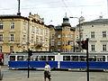 Krakowska St seen from Dietla St 2015.JPG