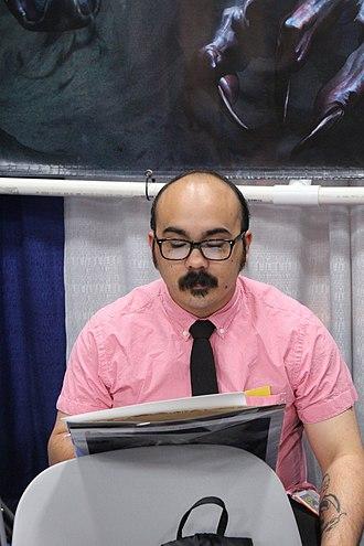 Kris Anka - Anka at 2013 Comic-Con International