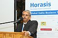 Kris Gopalakrishnan, CEO, Infosys, during the Karnataka reception, at the Horasis Global India Business Meeting 2009 - Flickr - Horasis.jpg