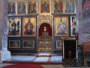 Fruška Gora - Krušedol monastery.