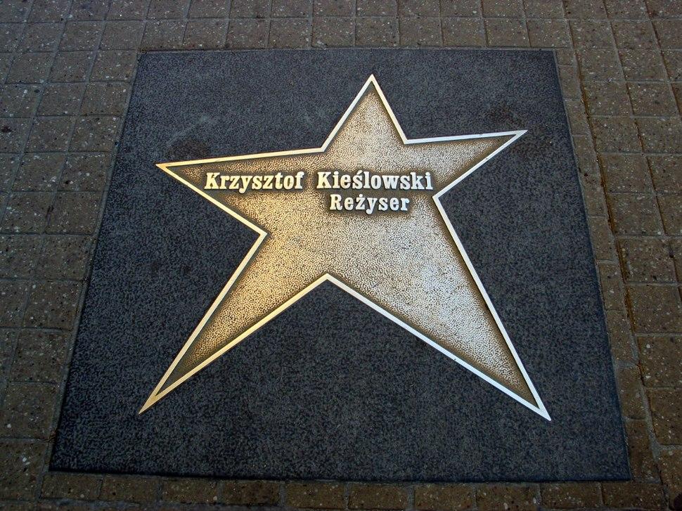 Krzysztof Kieslowski gwiazda Lodz