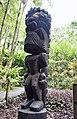 Ku sculpture, Monkeypod wood, Hawaii Tropical Botanical Garden (33289201550).jpg