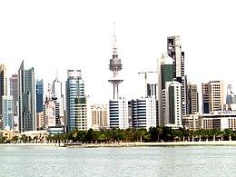 科威特市天际线的天际线