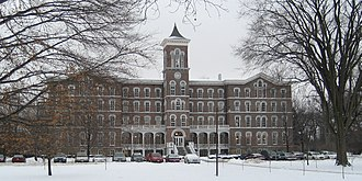 Lake Erie College - College Hall, built in 1857, on the campus of Lake Erie College in Painesville, Ohio