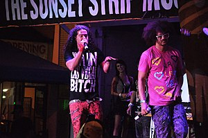 LMFAO at the Sunset Strip Music Festival 2009