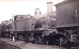 Midland Railway 1121 Class - LMS 1874