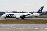 LOT, SP-LRA, Boeing 787-8 Dreamliner (47578063412).jpg