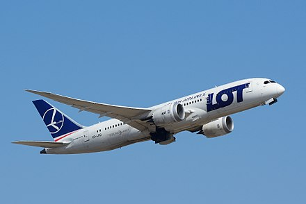 LOT Polish Airlines is one of the world's oldest air carriers still in operation, originally established on 1 January 1929. LOT Polish Airlines Boing 787-8 SP-LRD NRT (24747512573).jpg