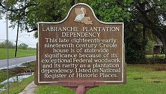 St. Rose, Louisiana - Image: La Branche Plantation Dependency (St. Rose, Louisiana)
