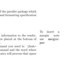 LaTeX/Footnotes and Margin Notes - Wikibooks, open books for an open
